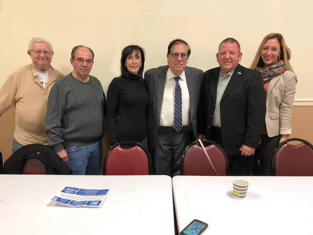 At tonight's Staten Island Civic Association meeting we were honored to have as our key note speaker our Assemblyman elect Michael Reilly pictured here (2nd from right) with the SICA board. Best of luck to Mike in Albany!
